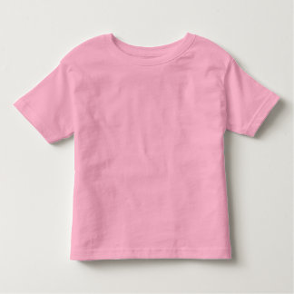 Camiseta Infantil T-shirt cor-de-rosa liso do jérsei da multa da