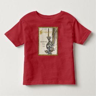 Camiseta Infantil T-shirt da criança da faísca