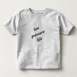 Camiseta Infantil T-shirt da criança da vida da baixa pressão