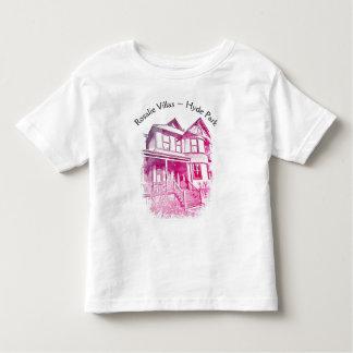 Camiseta Infantil T-shirt da criança das casas de campo de Rosáalia