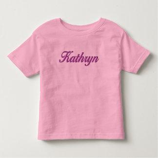 Camiseta Infantil T-shirt da criança de Kathryn