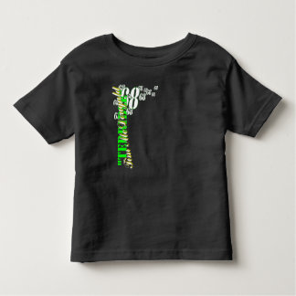 """Camiseta Infantil """"T-shirt da criança de Tim terrível"""""""