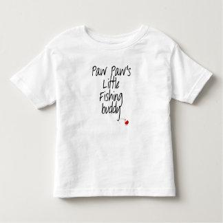 Camiseta Infantil T-shirt da criança do amigo da pesca da pata da