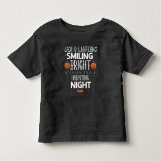 Camiseta Infantil T-shirt da criança do assombro do Dia das Bruxas