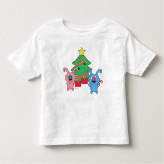 Camiseta Infantil T-shirt da criança do dia de Natal de Rollys