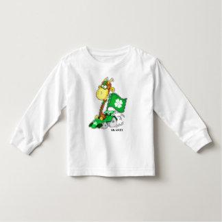 Camiseta Infantil T-shirt da criança do dia de St Patrick engraçado
