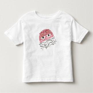 Camiseta Infantil T-shirt da criança do pente das medusa