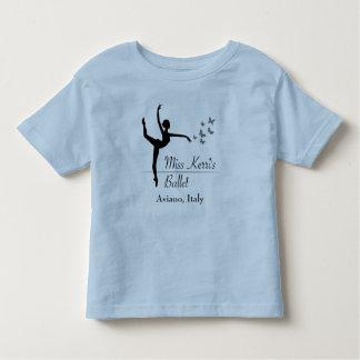 Camiseta Infantil T-shirt da criança do programa do balé de Aviano
