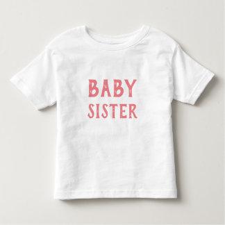 Camiseta Infantil T-shirt da irmã do bebê