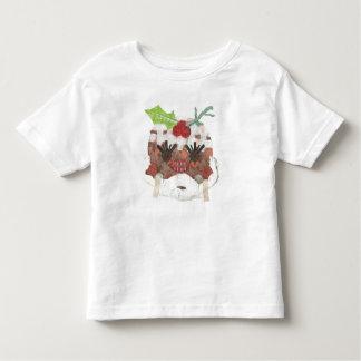 Camiseta Infantil T-shirt da Senhora Pudim Nenhum Fundo Criança