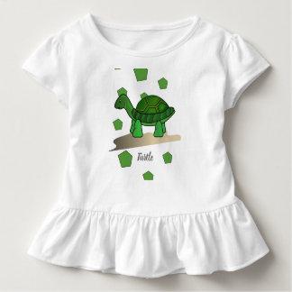 Camiseta Infantil T-shirt da tartaruga