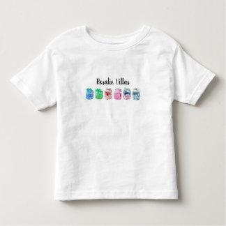 Camiseta Infantil T-shirt das casas de campo de Rosáalia