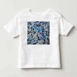 Camiseta Infantil T-shirt de vidro do jérsei da multa da criança do