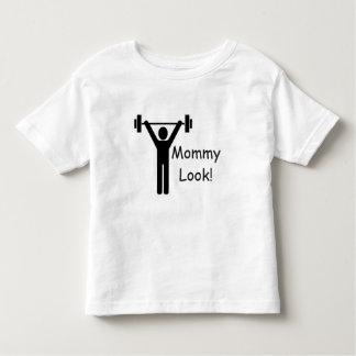 Camiseta Infantil T-shirt do branco do jérsei da multa da criança do
