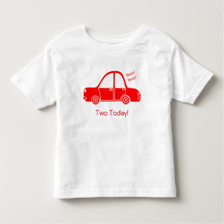 Camiseta Infantil T-shirt do carro