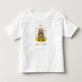 Camiseta Infantil T-shirt do cavalo