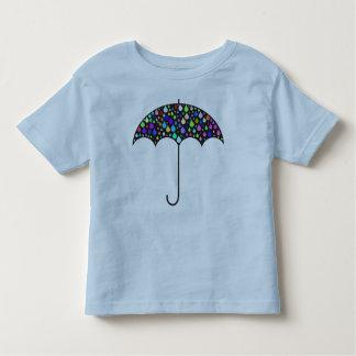 Camiseta Infantil T-shirt do guarda-chuva