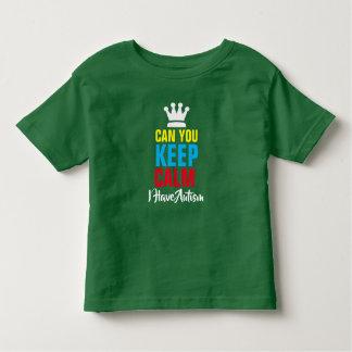 Camiseta Infantil T-shirt do jérsei da multa da criança do _de Calm*