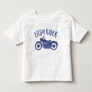 Camiseta Infantil T-shirt fácil do impressão da sarja de Nimes do