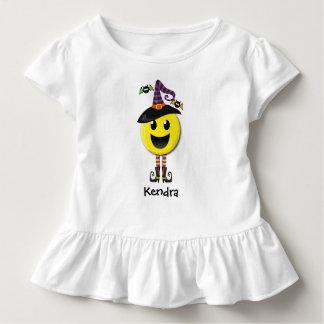 Camiseta Infantil T-shirt feliz personalizado do Dia das Bruxas