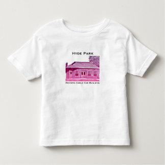 Camiseta Infantil T-shirt histórico da criança do teleférico de Hyde