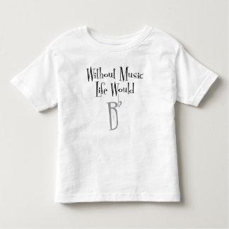 Camiseta Infantil T-shirt liso do jérsei da criança de B