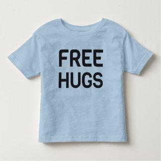 Camiseta Infantil T-shirt livre do jérsei da multa da criança dos