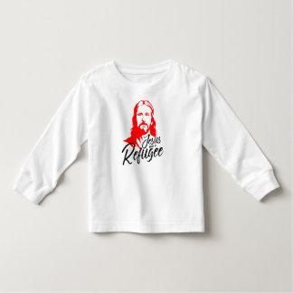 Camiseta Infantil T-shirt longo da luva da criança de Jesus