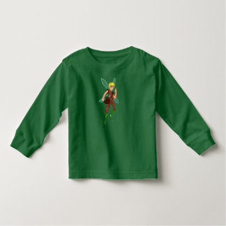 Camiseta Infantil T-shirt longo da luva da criança do funileiro de
