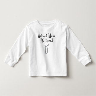 Camiseta Infantil T-shirt longo da luva da criança lisa de B