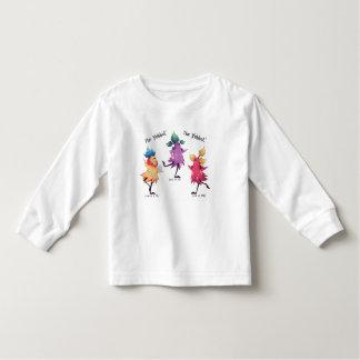 Camiseta Infantil T-shirt longo da luva de Yabbut da dança para