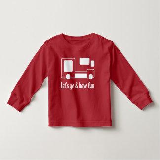 Camiseta Infantil T-shirt longo HQH da luva da criança engraçada do