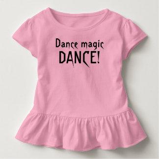 Camiseta Infantil T-shirt mágico do LABIRINTO da dança da dança