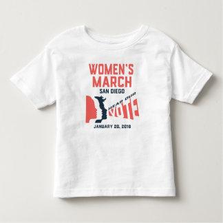 Camiseta Infantil T-shirt oficial da criança do março San Diego das