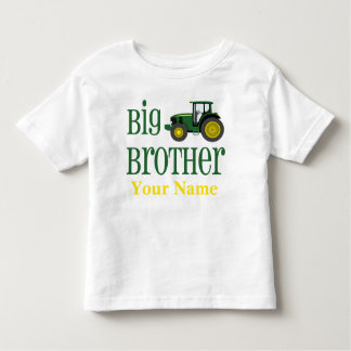 Camiseta Infantil T-shirt personalizado trator do big brother