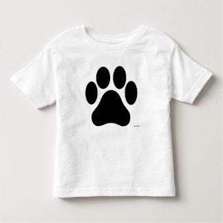 Camiseta Infantil T-shirt preto e branco da criança do impressão da