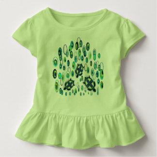 Camiseta Infantil tartaruga 37 de turquesa