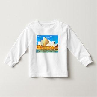 Camiseta Infantil Teatro da ópera bonito de Sydney