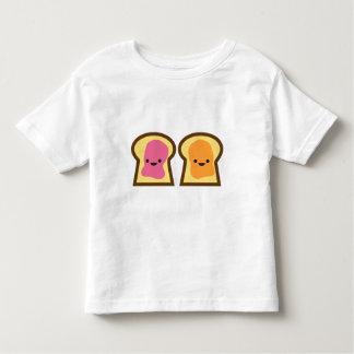 Camiseta Infantil Tempo da geléia da manteiga de amendoim