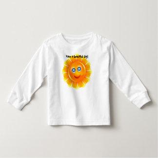 Camiseta Infantil Tenha um dia bonito!