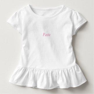 Camiseta Infantil Terno gêmeo do bebê da cópia e da pasta