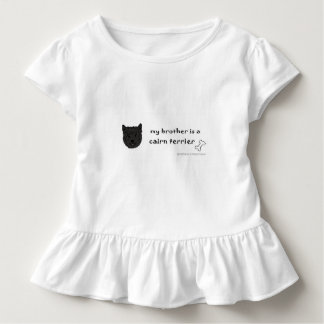 Camiseta Infantil terrier de monte de pedras