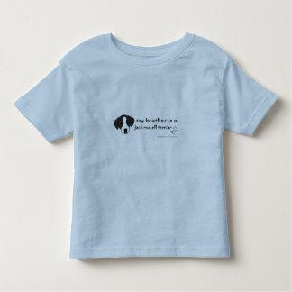 Camiseta Infantil terrier de russell do jaque