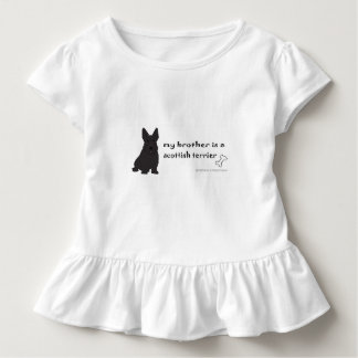 Camiseta Infantil terrier escocês