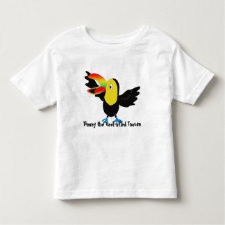 Camiseta Infantil Timmy o toucan Quilha-faturado
