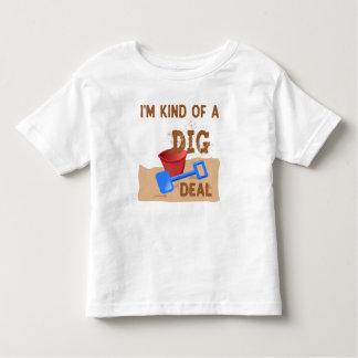 Camiseta Infantil Tipo de I'm de um negócio da ESCAVAÇÃO