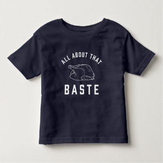 Camiseta Infantil Toda sobre o esse regue a acção de graças
