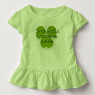 Camiseta Infantil Toma o tempo construir castelos