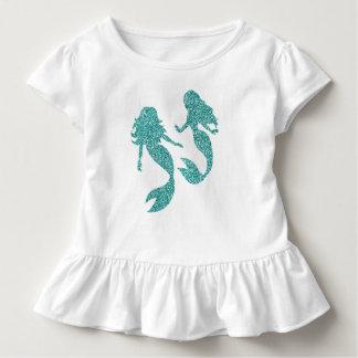 Camiseta Infantil Tshirt da criança da sereia