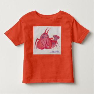 Camiseta Infantil Tshirt das impressões da lagosta